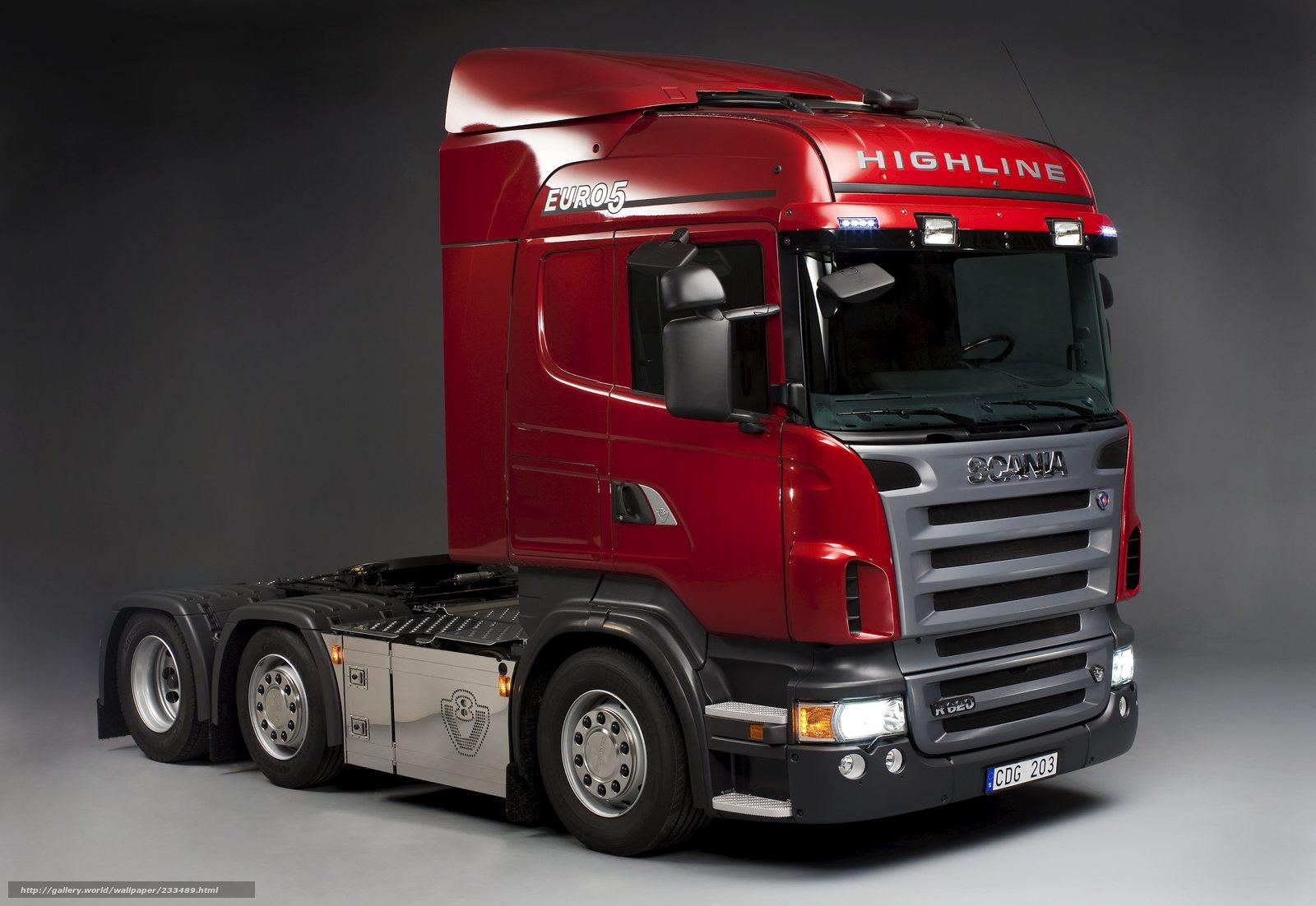 Hq scania, van, caminhão, vermelho, 3562x2453 fotos, Imagens HQ e