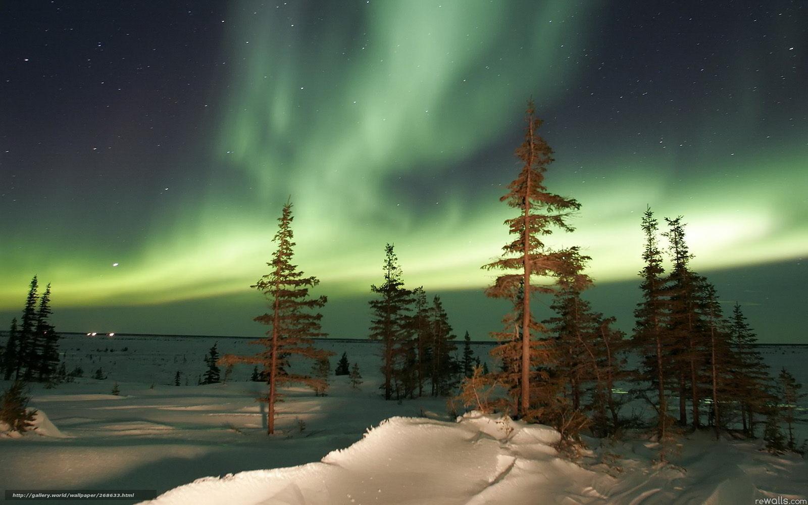 Север природа красота 1680x1050 обои