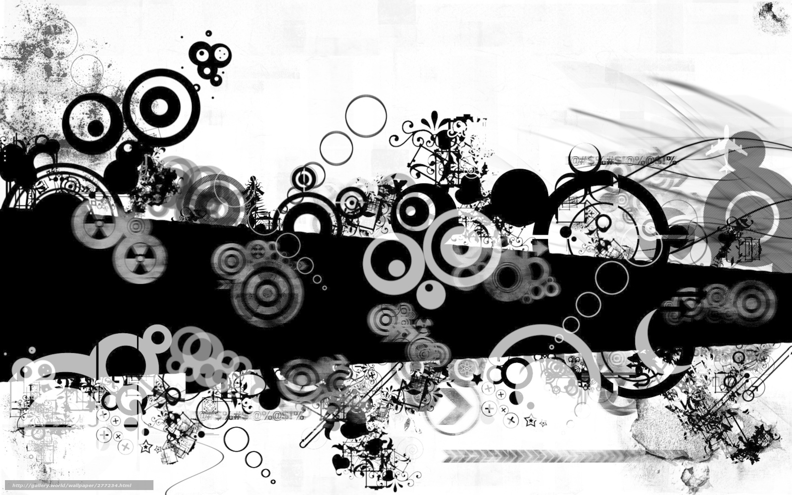 Hq Soyut Siyah Beyaz 1920x1200 Resim Soyutlama Picture