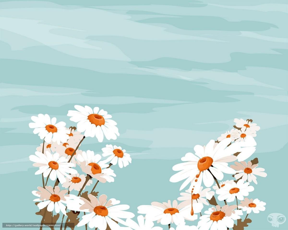 Hq papatya vektör damla 1280x1024 resim çiçekler
