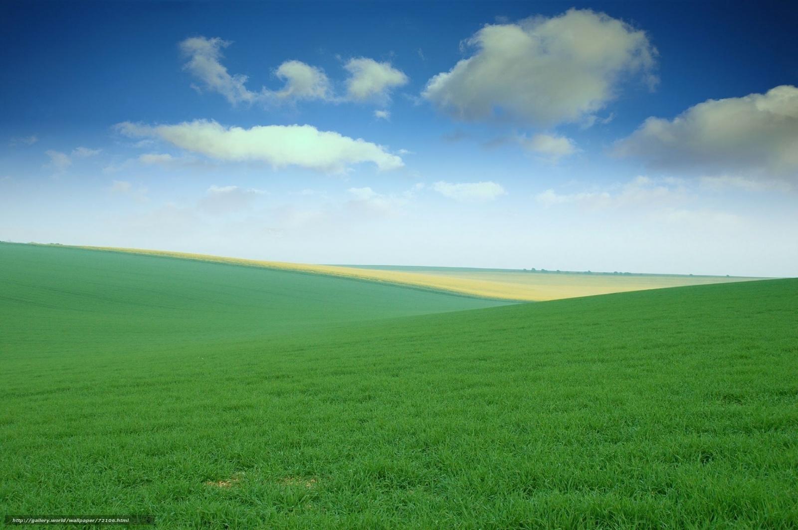 Hq alan, gökyüzü, çimen, çayır, açık alanlar, 1920x1275 resim