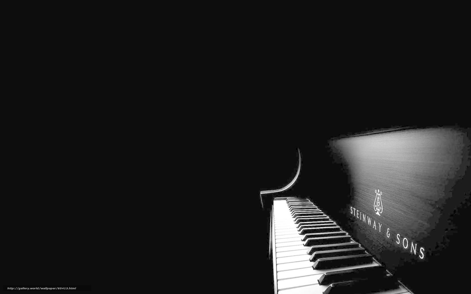 Hq tarzı piyano tuşları siyah beyaz 1680x1050 resim stil