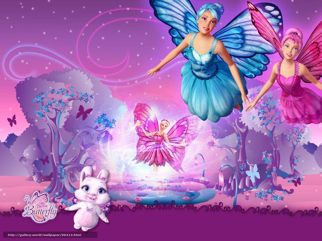 HQ Barbie Mariposa, Mariposa Barbie y sus amigas hadas mariposa