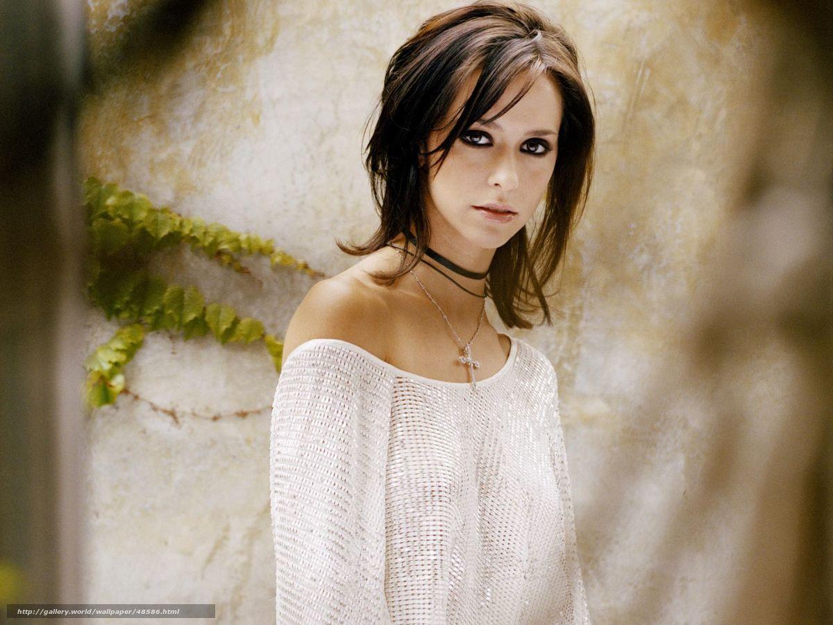 Скачать Jennifer Love Hewitt, девушка, красивая, фото, обои, картинка