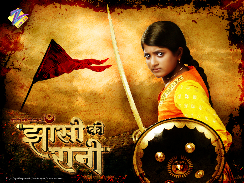 Download wallpaper The Queen of Jhansi, Ek Veer Stree Ki Kahaani ... Jhansi Ki Rani, film, movie free desktop wallpaper in the resolution 1024x768 — picture №225425