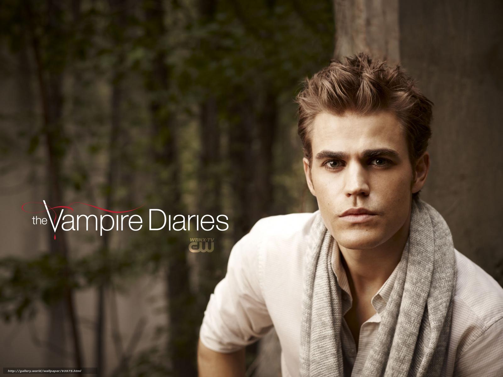 Скачать обои Дневники вампира,...