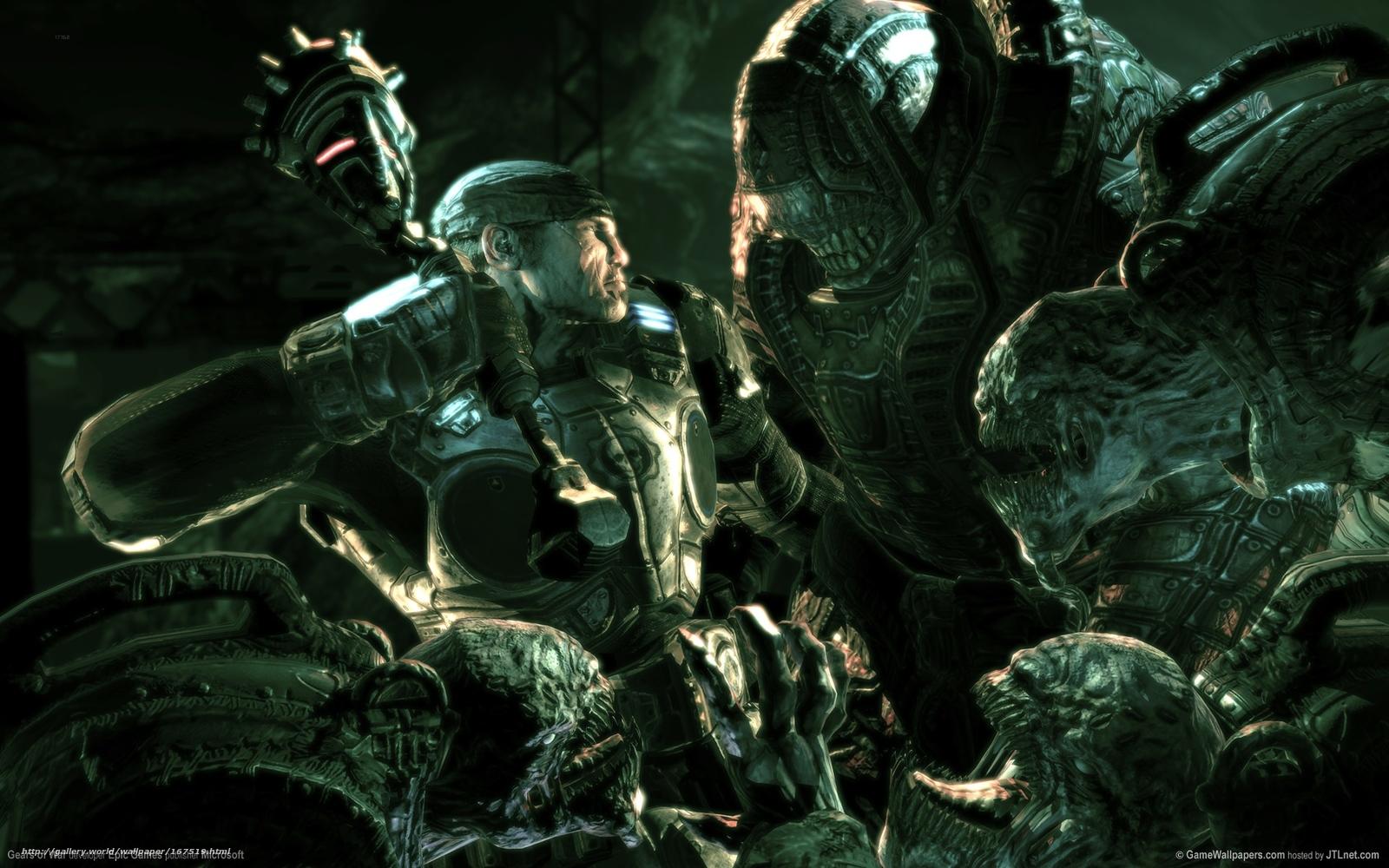 descargar el juego de gears of war para pc gratis