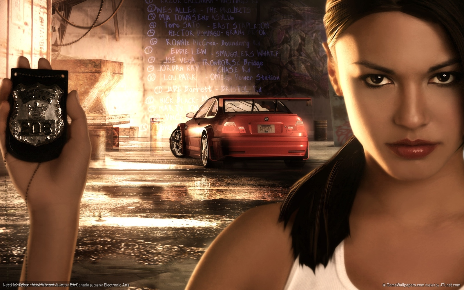 Screens Zimmer 9 angezeig: Need for speed most wanted pc game