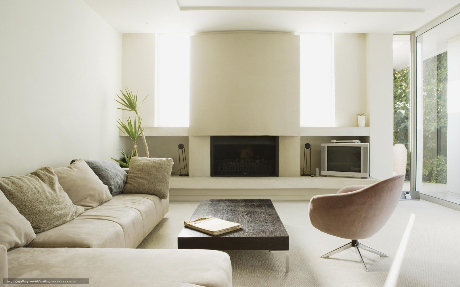 Камин комната дизайн интерьер