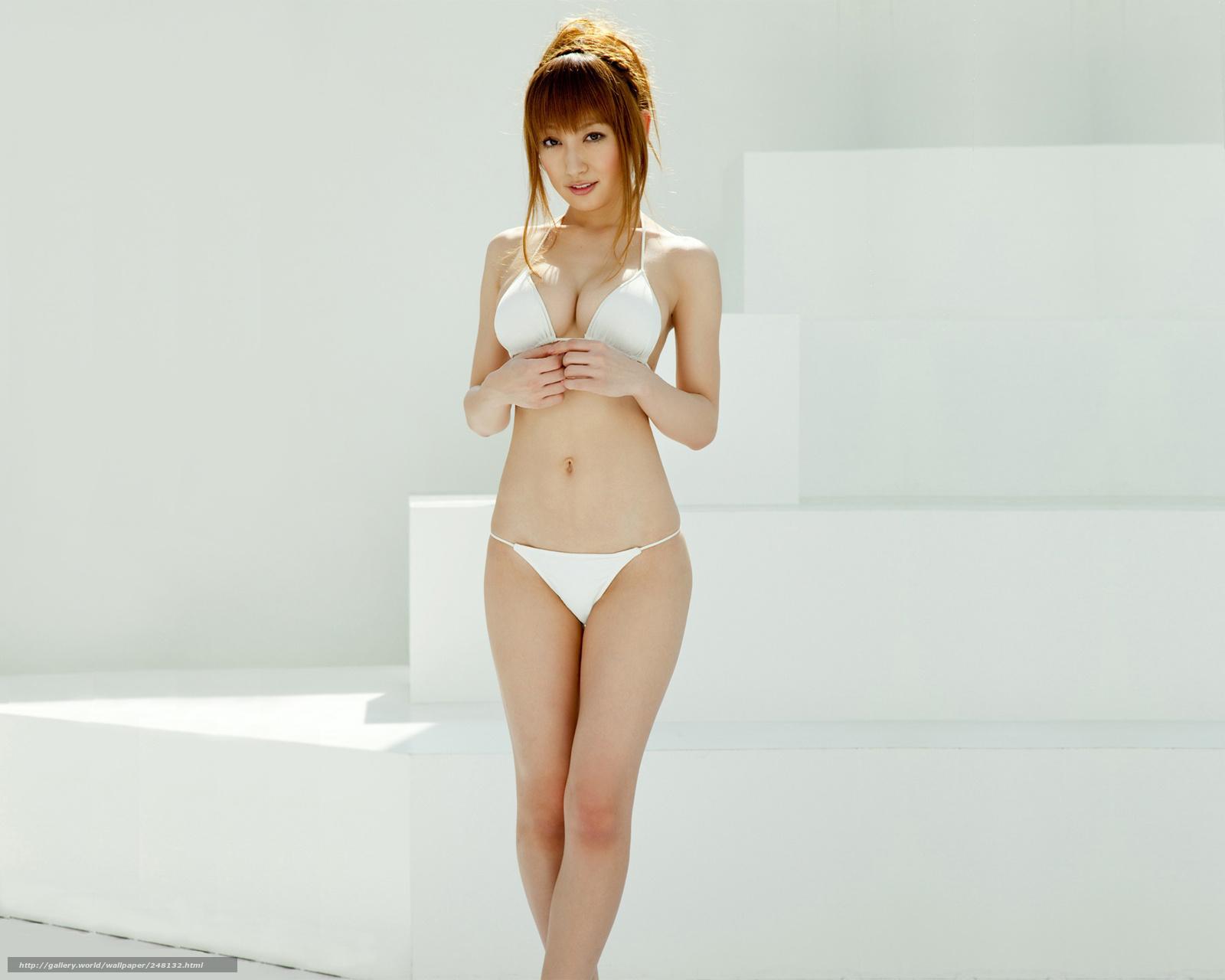 Японочка в красивом белье 19 фотография