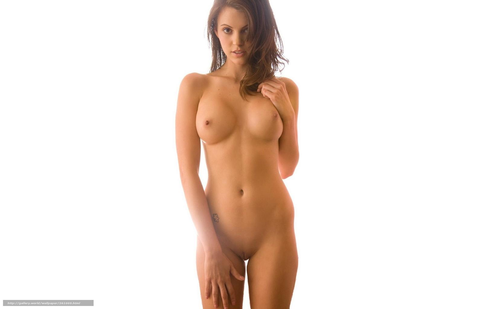 девушка, сексуальная, обнаженная, голая, фигура, грудь, супер ...