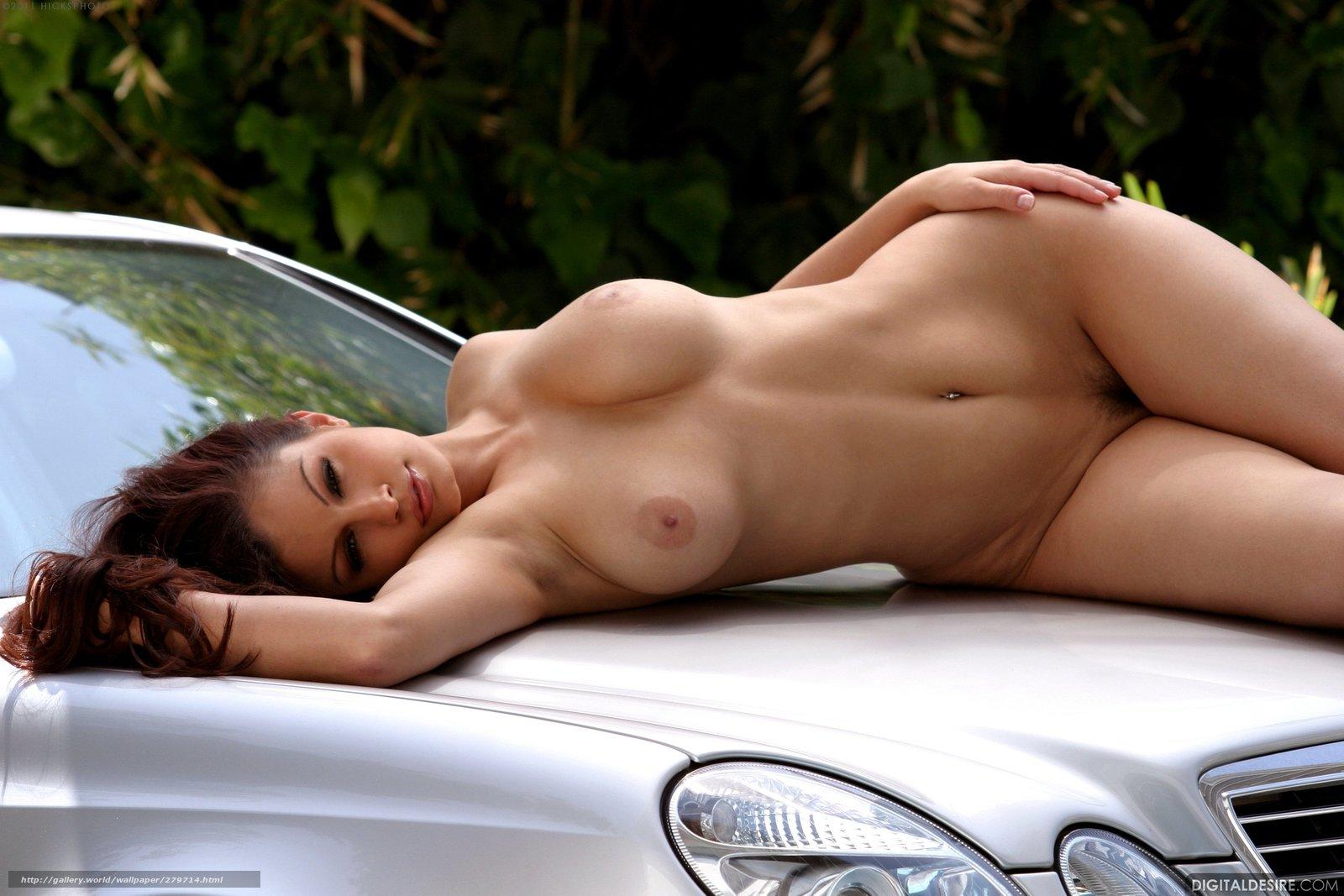 Фото модели голые и авто 20 фотография