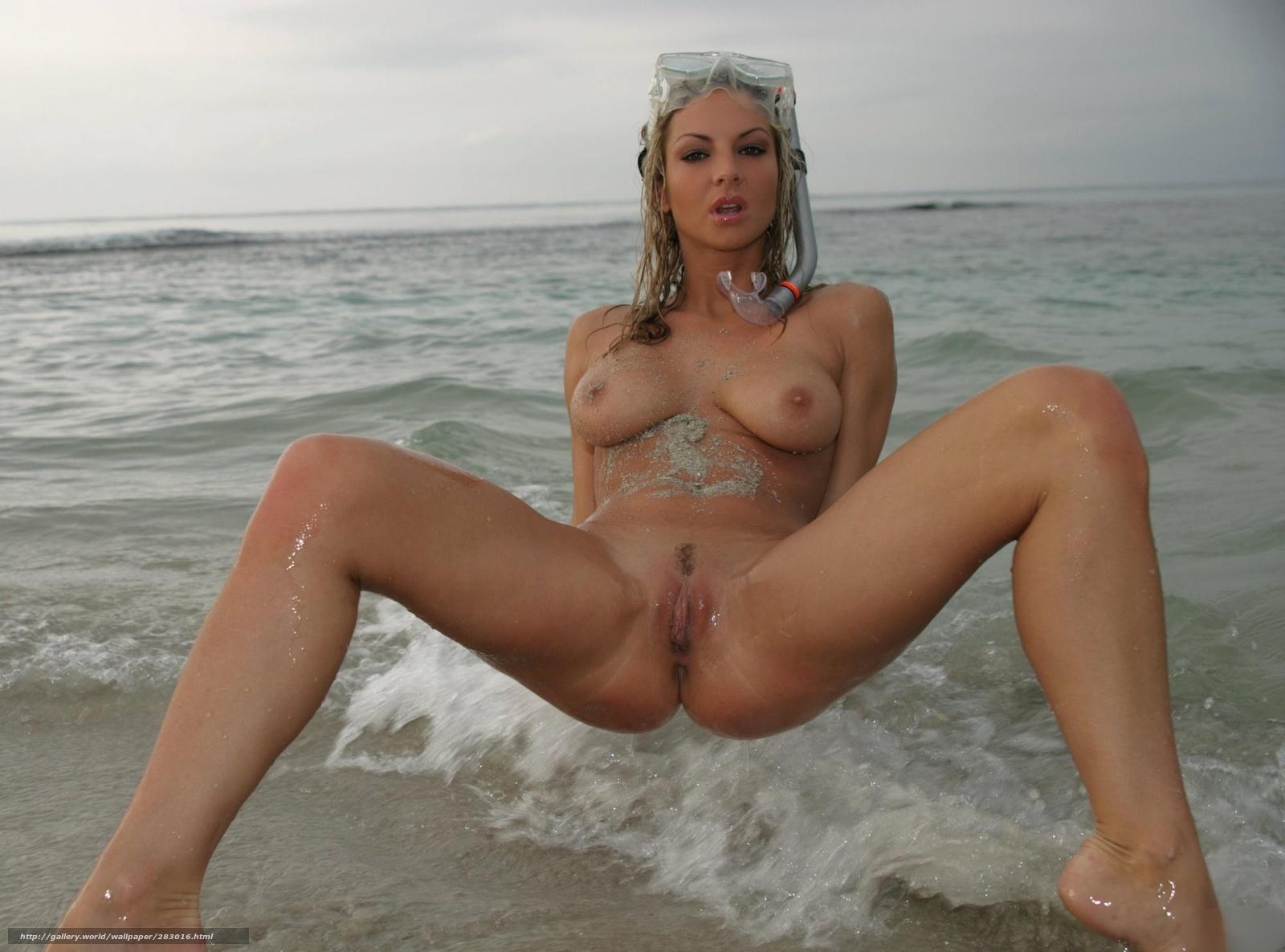 Секс красавицы на пляже 6 фотография