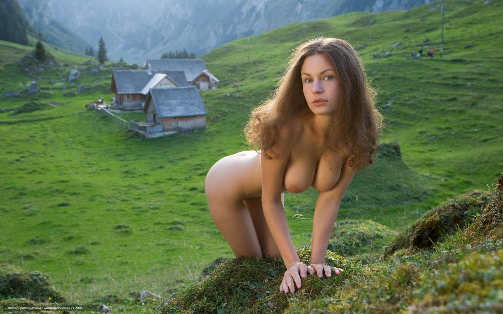 Фото девушек голых дома 4