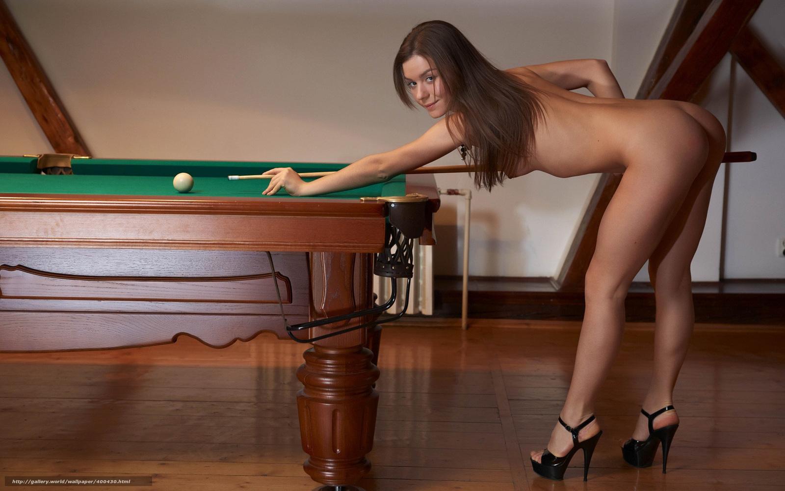 Предложил девушке сыграть в бильярд на раздевание смотреть онлайн 7 фотография
