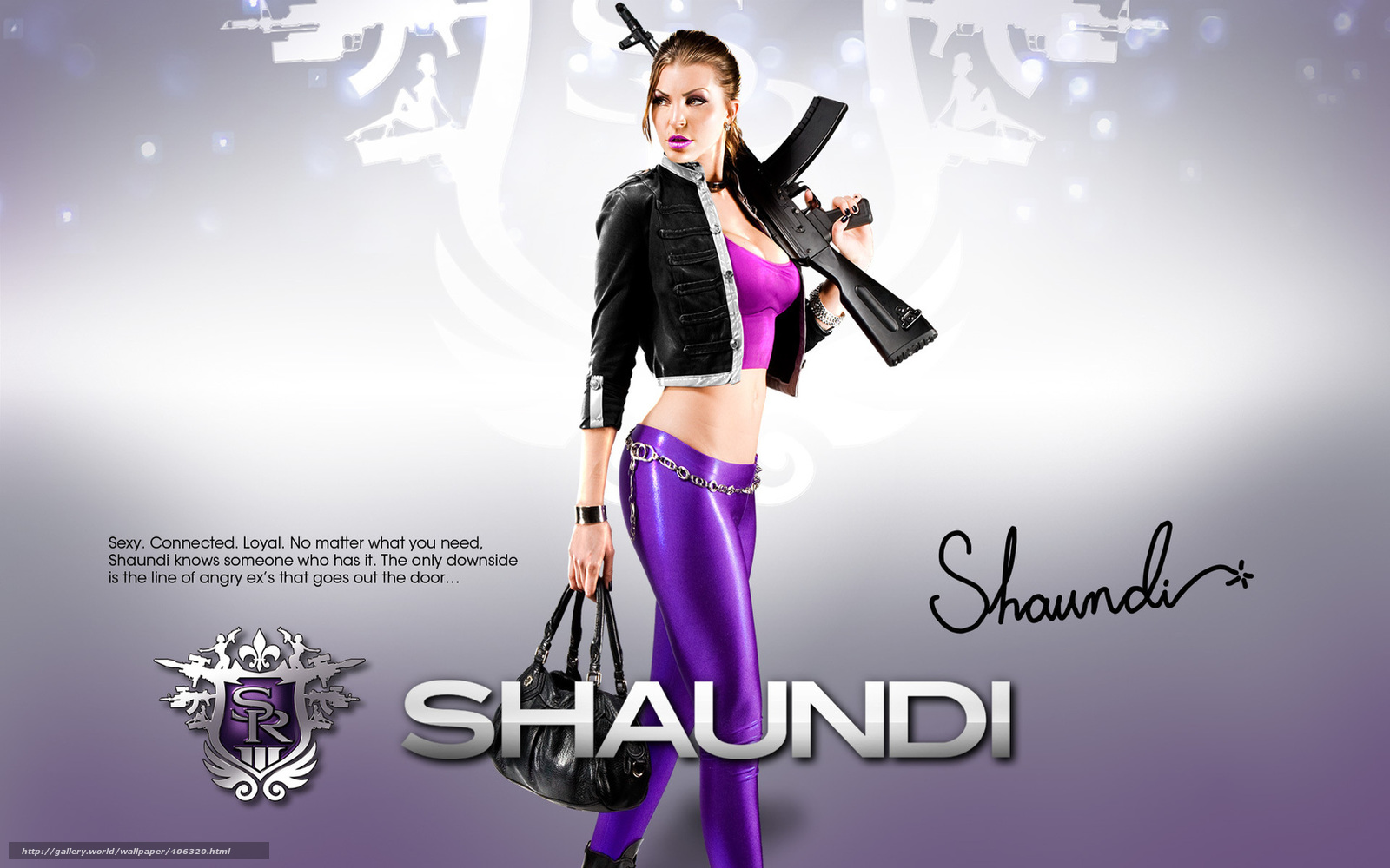 Porn saints row shoundi nude girl