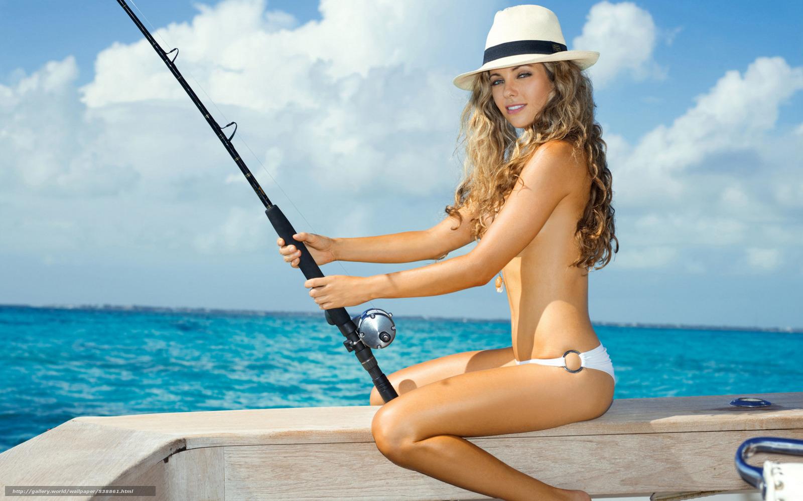 Сексуальные девченки на рыбалке 17 фотография