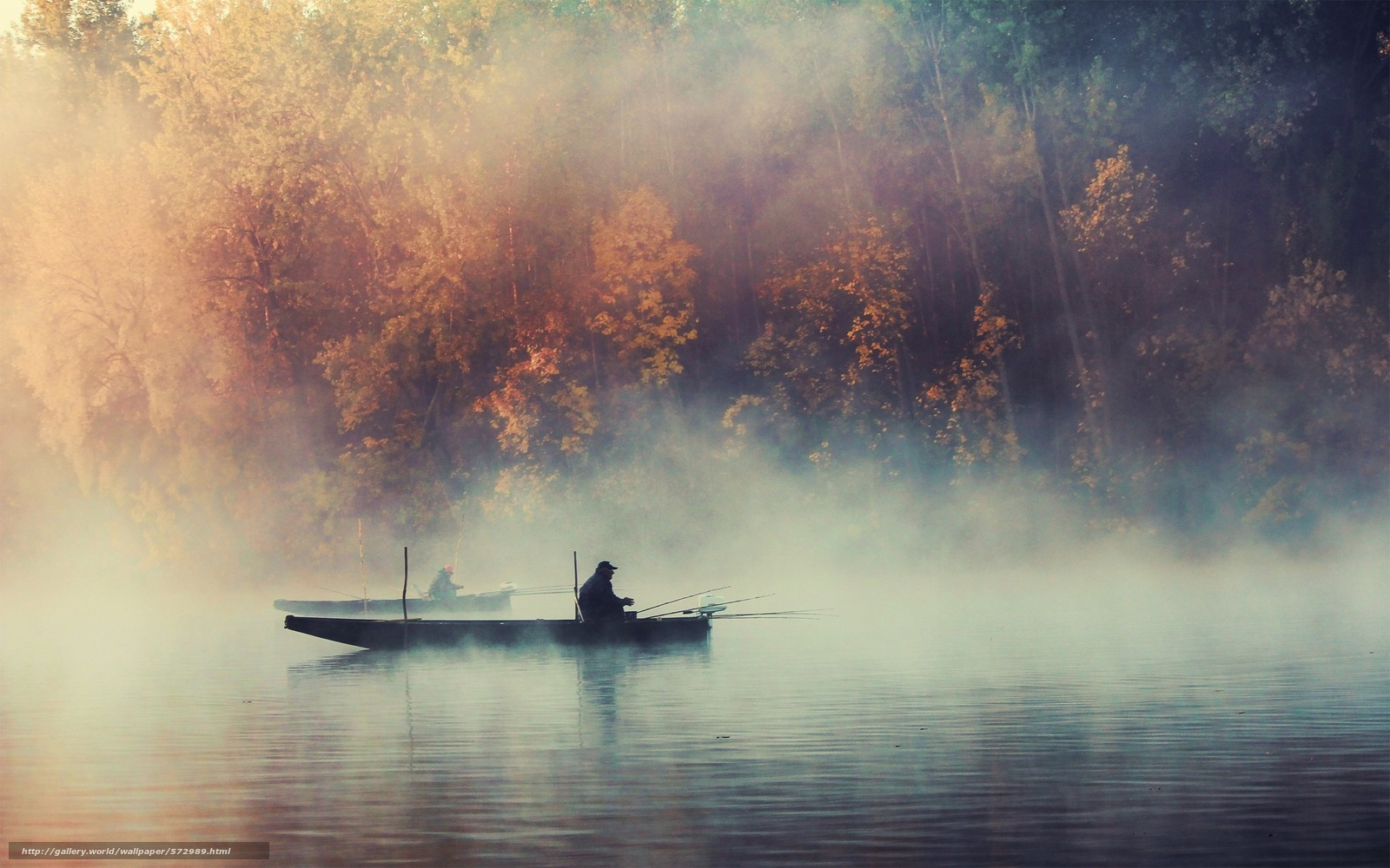 красивый фон рыбалка