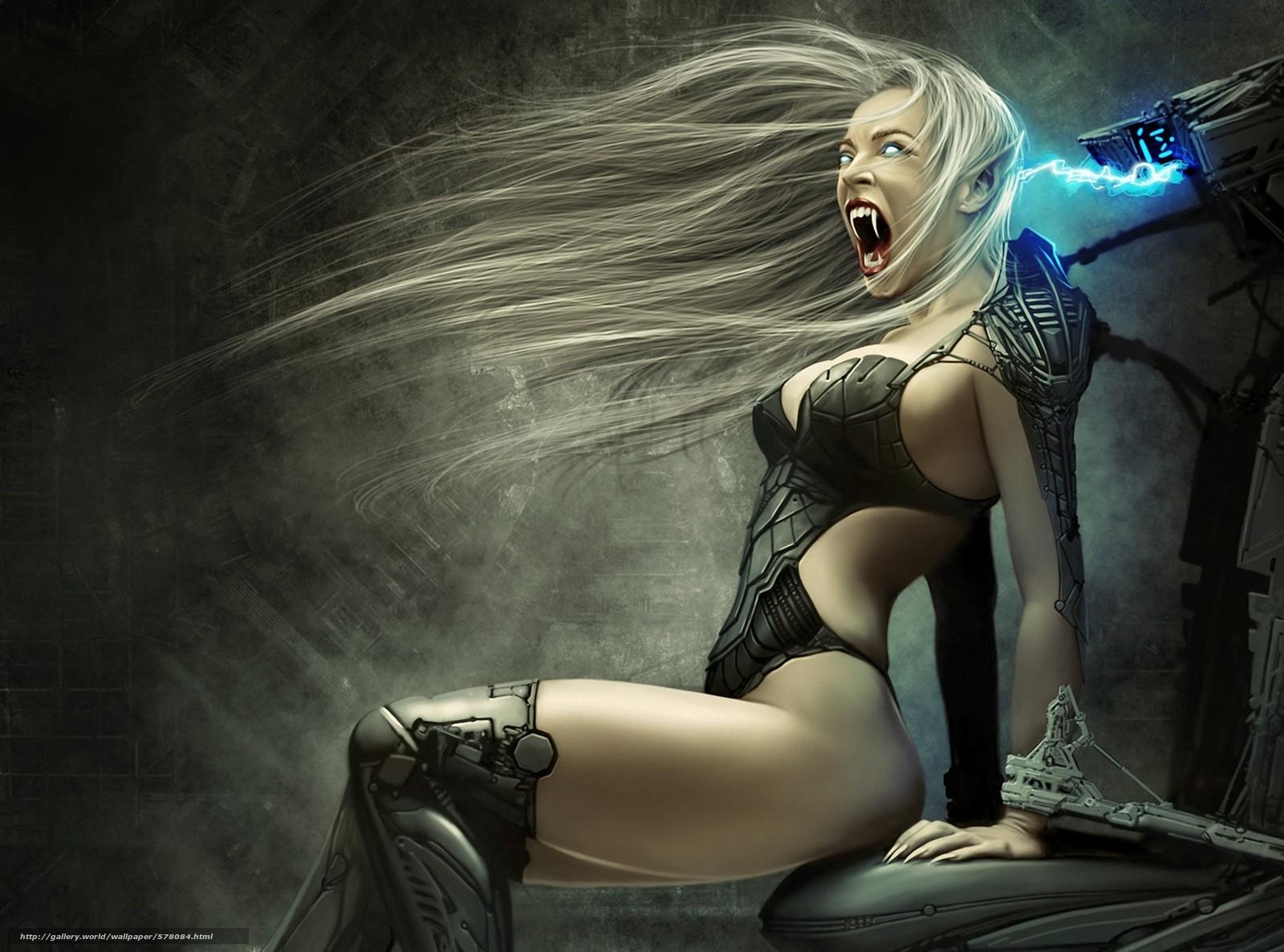 Vampire girl pic adult clip