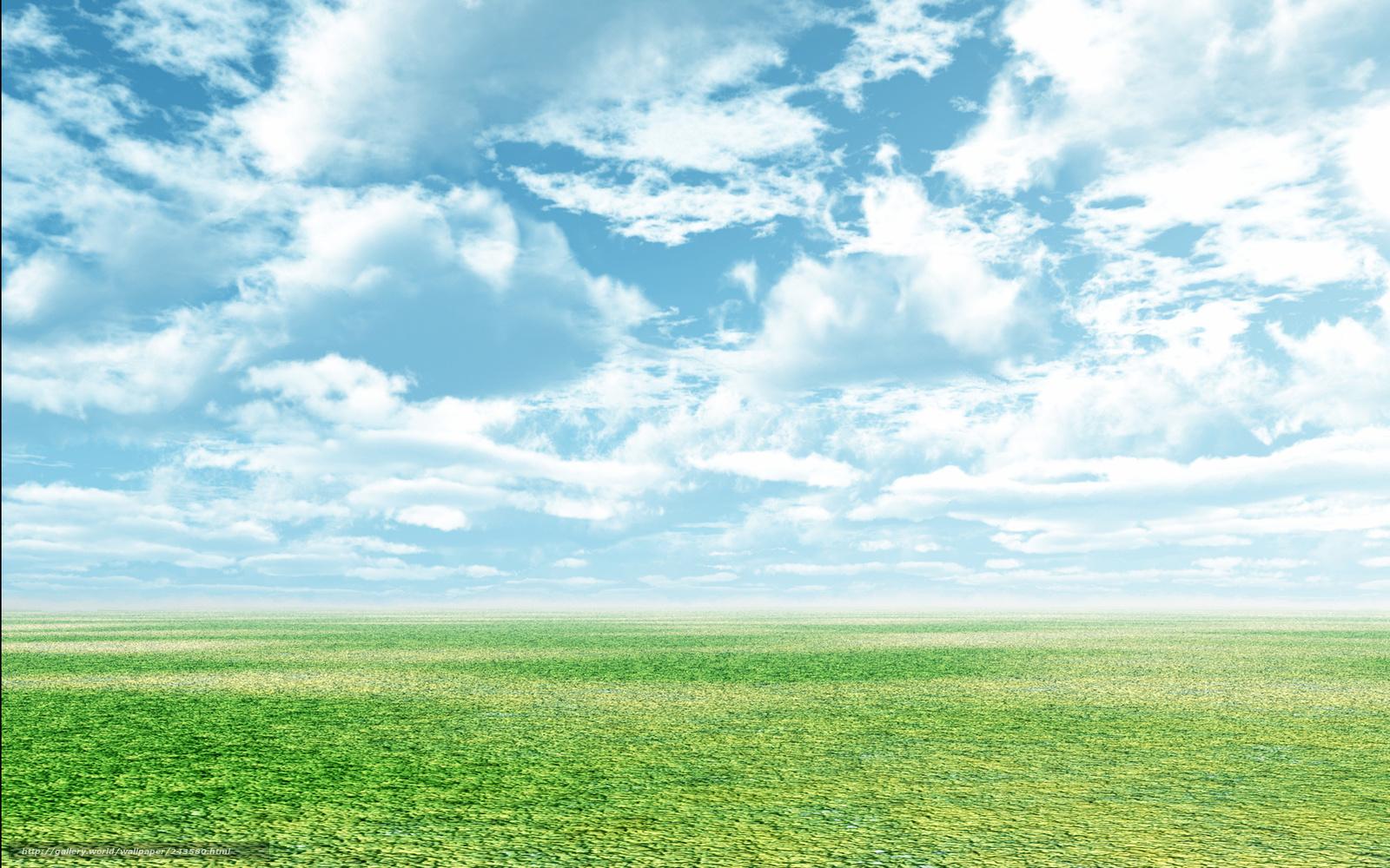 Обои зеленая трава для рабочего стола