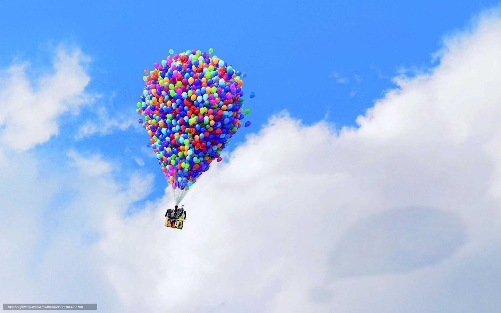 Картинки воздушные шары шарики белое сердца на рабочий