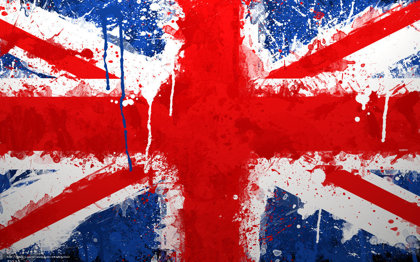 Download wallpaper England, flag, paints free desktop wallpaper in the ...