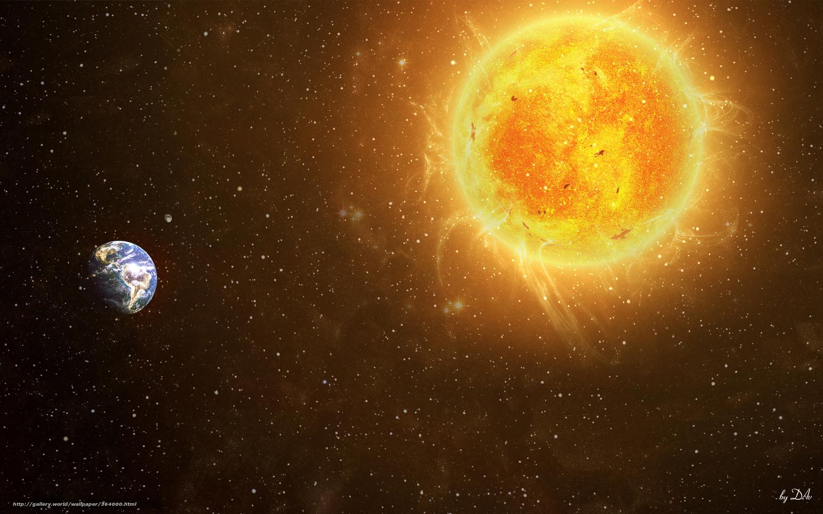 Солнце - наша ближайшая звезда и маяк в космосе
