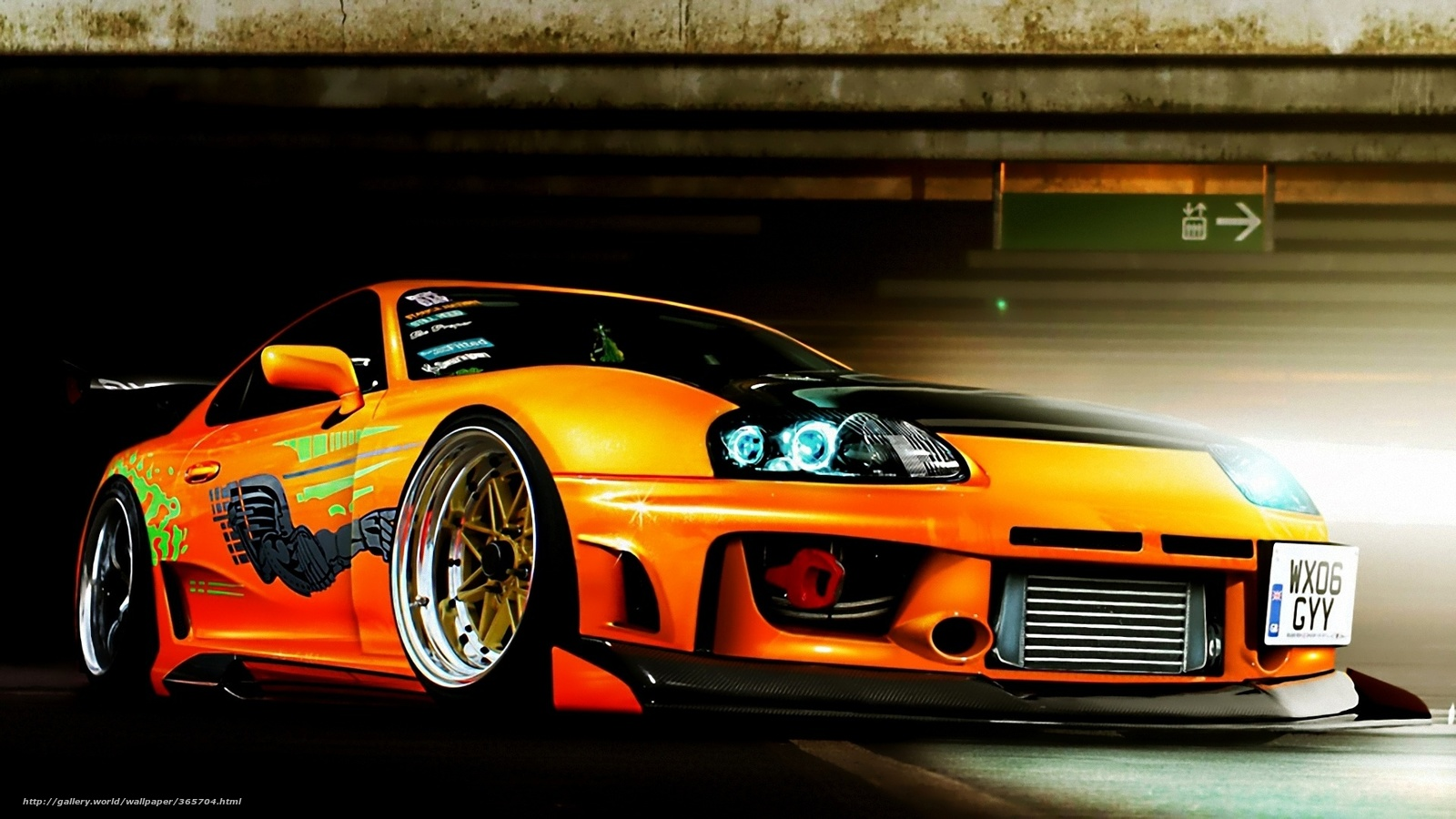 Home Cars Toyota Supra Wallpaper