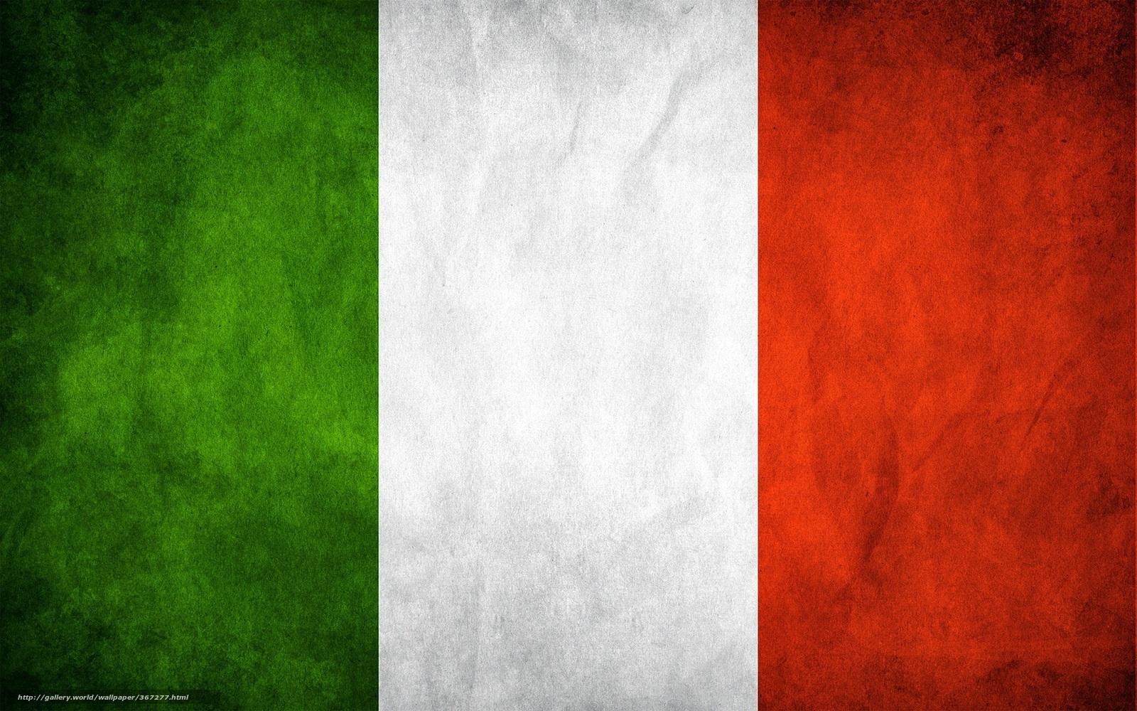 Италия флаг цвета зелёный белый