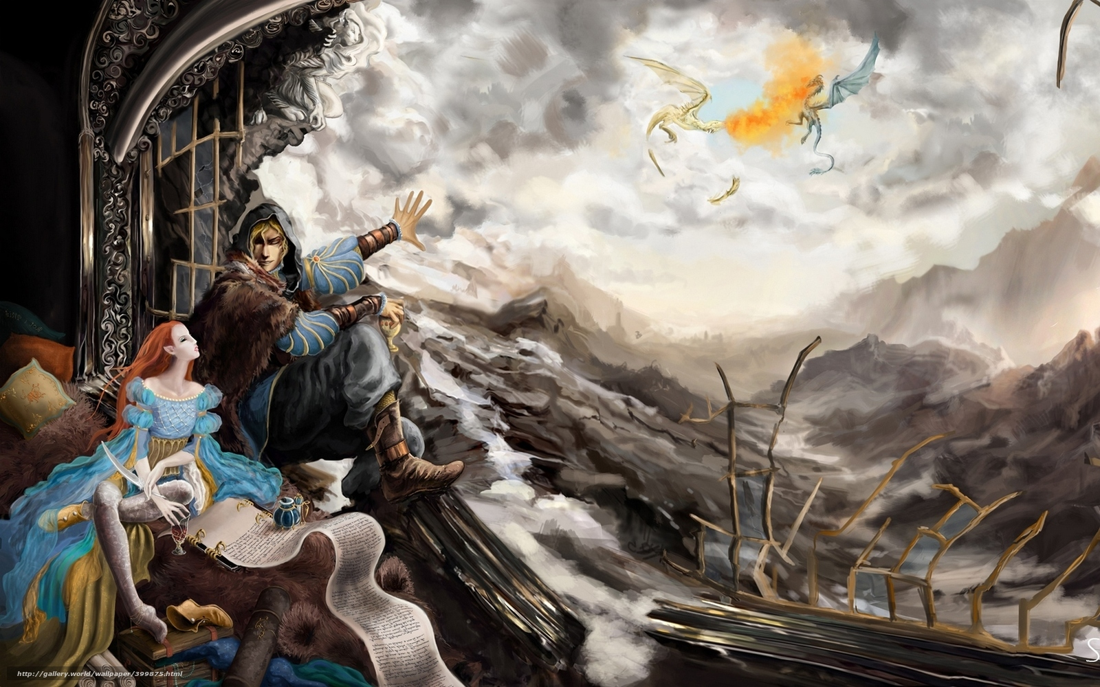 Descargar gratis Elder Scrolls,  dovakin,  Dragonborn,  Dragones Fondos de escritorio en la resolucin 1920x1200 — imagen №399875