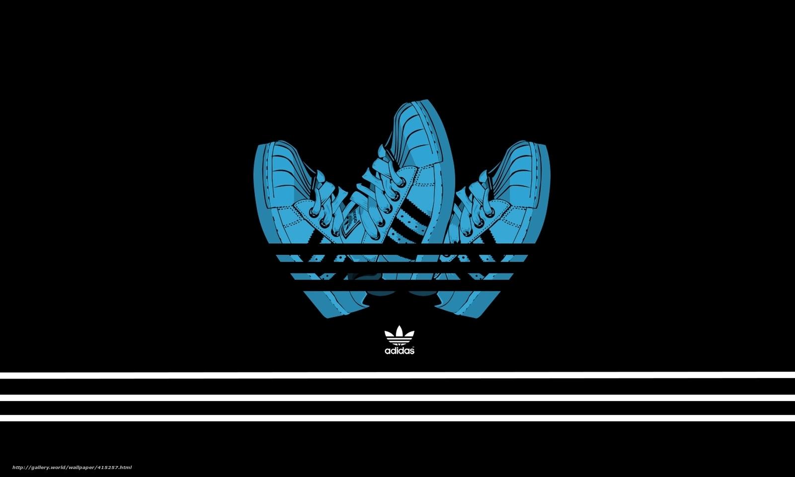 Adidas Creative Logo Design HD wallpaper.