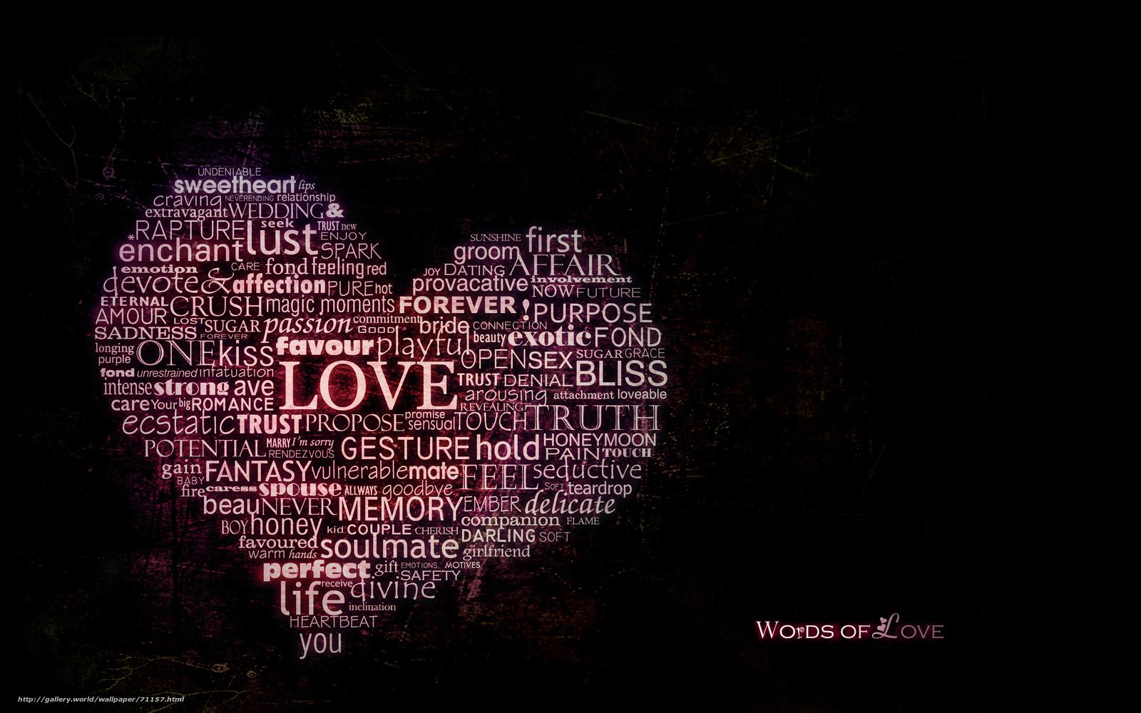 Скачать обои сердце, любовь,...