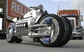 Концепт Dodge Tomahawk.  Самые крутые мотоциклы из будущего.